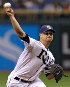 Alex Cobb is just another one of those great young Rays' pitchers.Photo from Eagle Tribune.