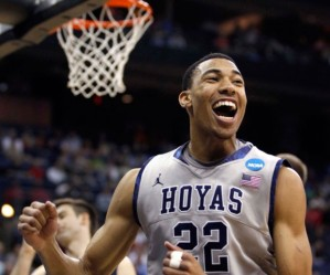 Otto Porter is looking to finally get Georgetown over their recent struggles in March.Photo from BeyondUSSports