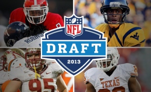 The NFL Draft begins the night of Thursday, April 24. Photo from NFL.com