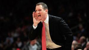 Mike Rice was fired from Rutgers his violent coaching tactics became viewable to the public.Photo from ESPN