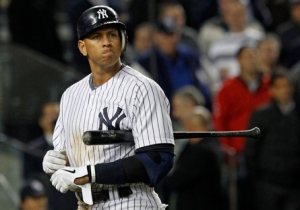 Alex Rodriguez would have to have a monster last few months to even be considered a Postseason roster option. Photo from Time