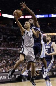 Tony Parker will be the key as the Spurs look to reach their first NBA Final since 2007. Photo from Newsday